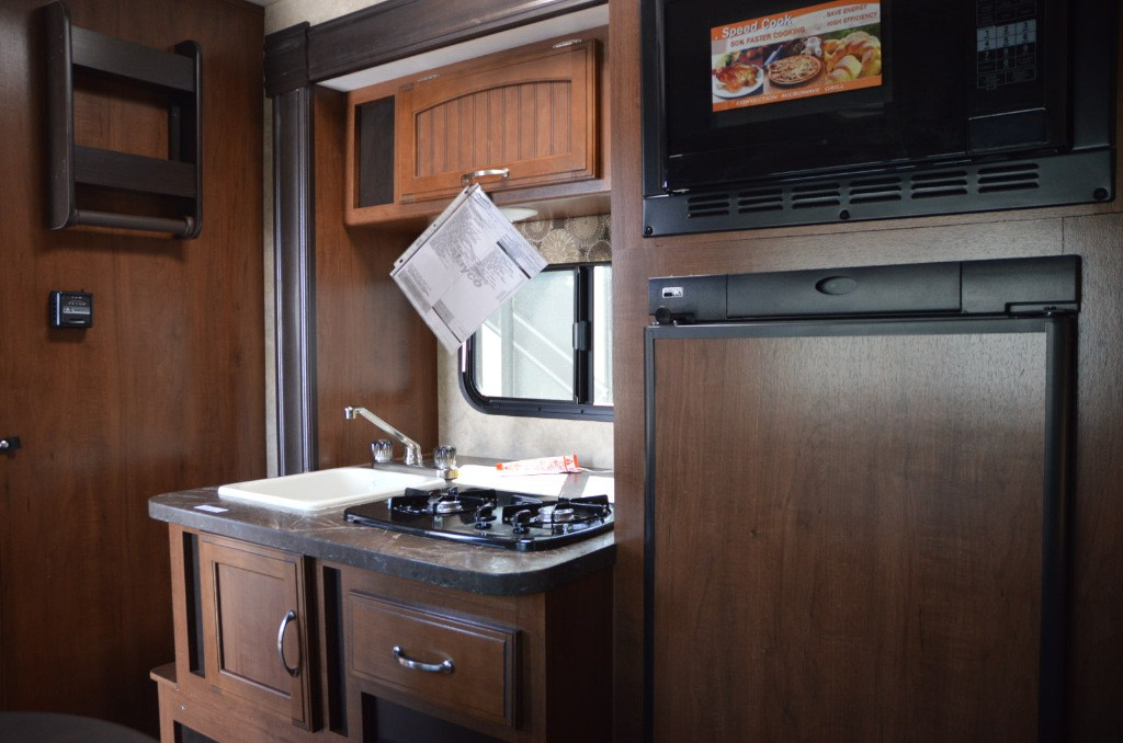 Jayco Hummingbird Travel Trailer Kitchen