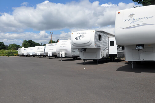 Large Selection of Used RVs