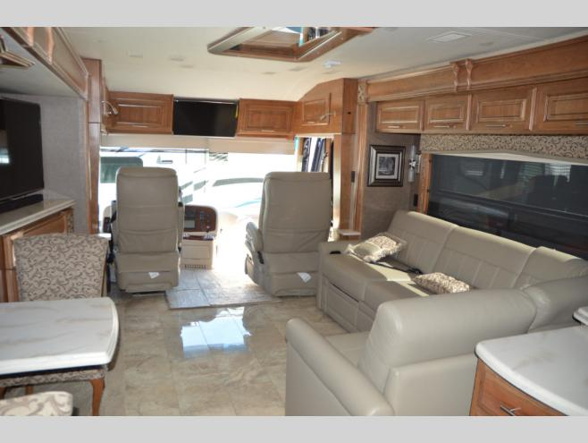Paul Evertu0027s RV Country Milton, OR Location Class A Diesel Motorhome  Interior