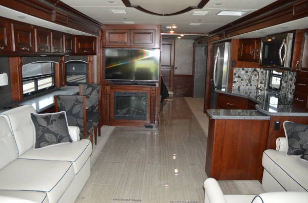 Monaco Diplomat class A living space